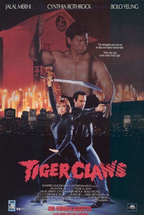 Tiger Claws Movie Posters From Movie Poster Shop