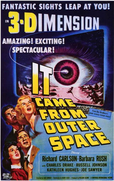 It Came from Outer Space Movie Posters From Movie Poster Shop