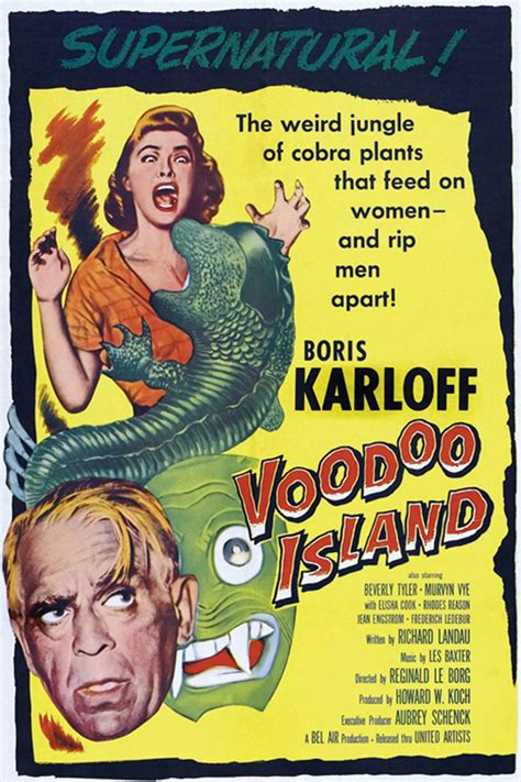 Voodoo Island movie posters at movie poster warehouse ...