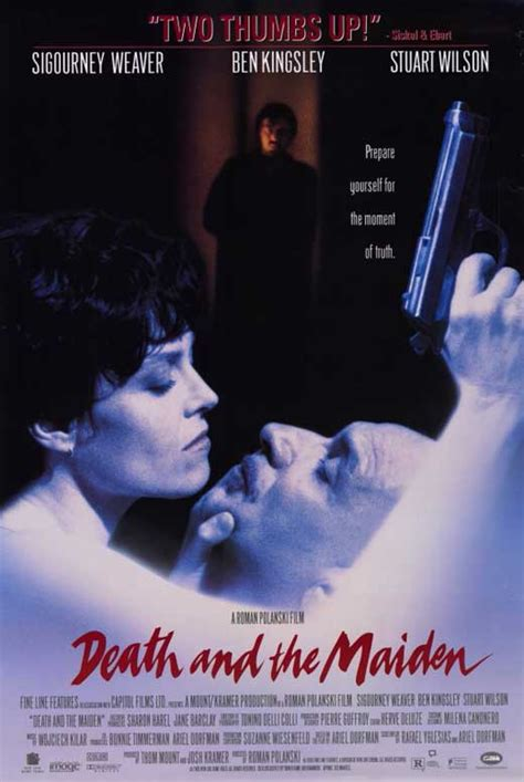 Death and the Maiden Movie Posters From Movie Poster Shop