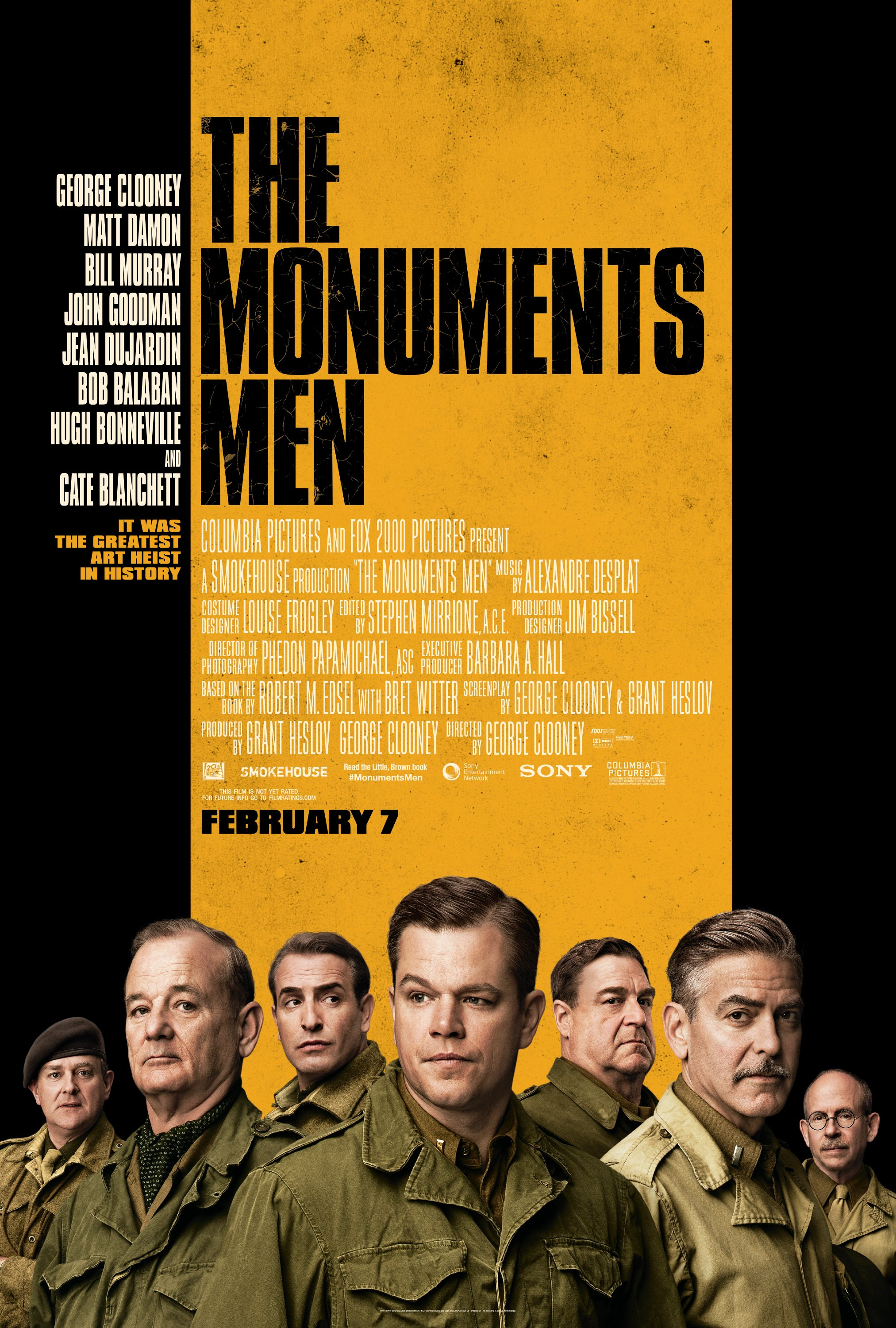 The Monuments Men [2014]