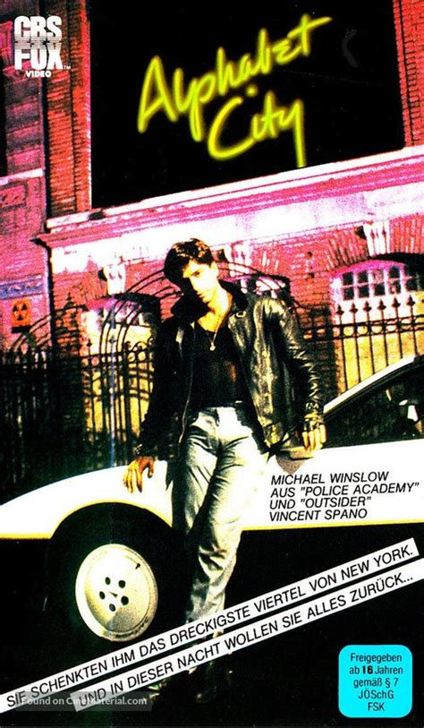Alphabet City German vhs cover