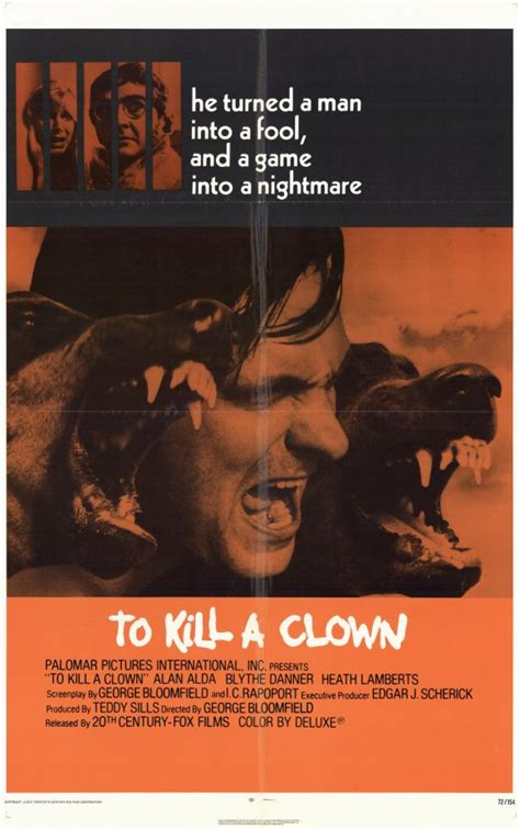 To Kill a Clown Movie Posters From Movie Poster Shop