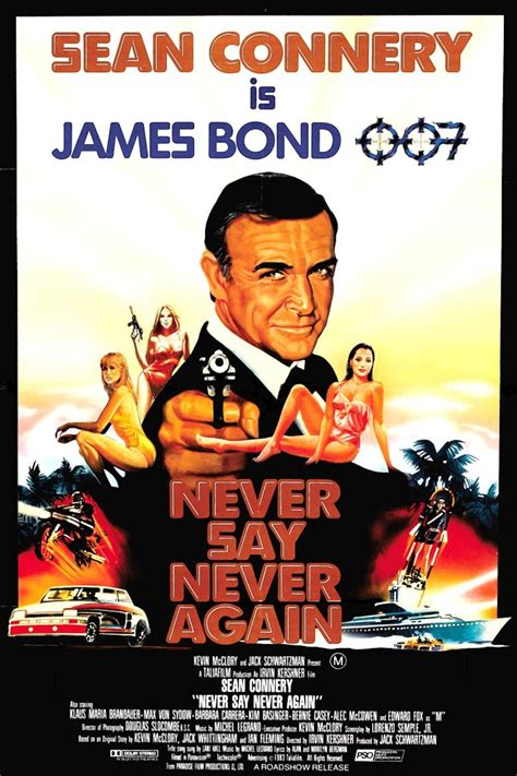 Never Say Never Again (1983) - Posters — The Movie ...