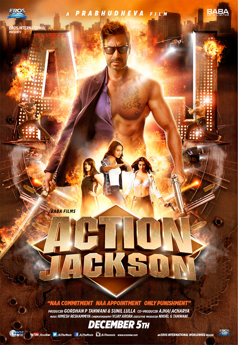 Action Jackson Trailer from Action Jackson