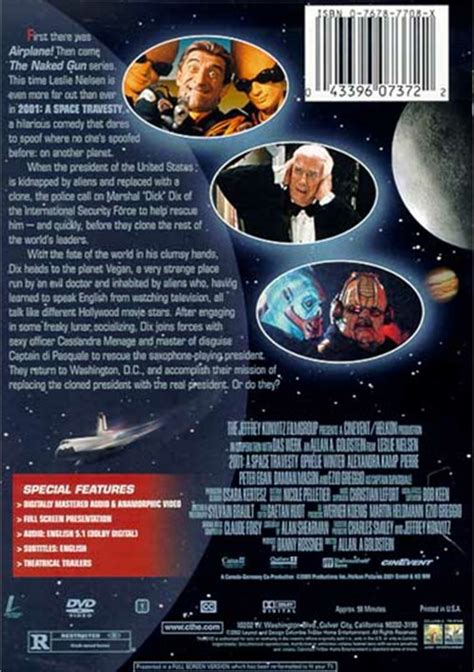 2001: A Space Travesty (DVD 2001) | DVD Empire