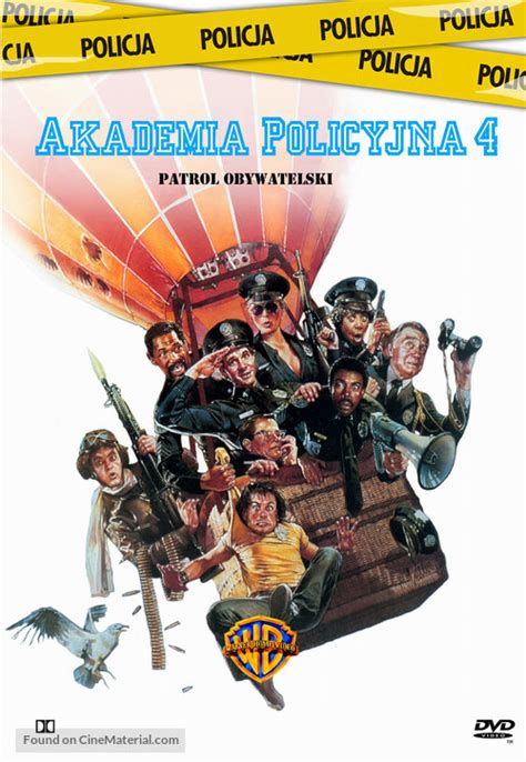 Police Academy 4: Citizens on Patrol Polish movie cover