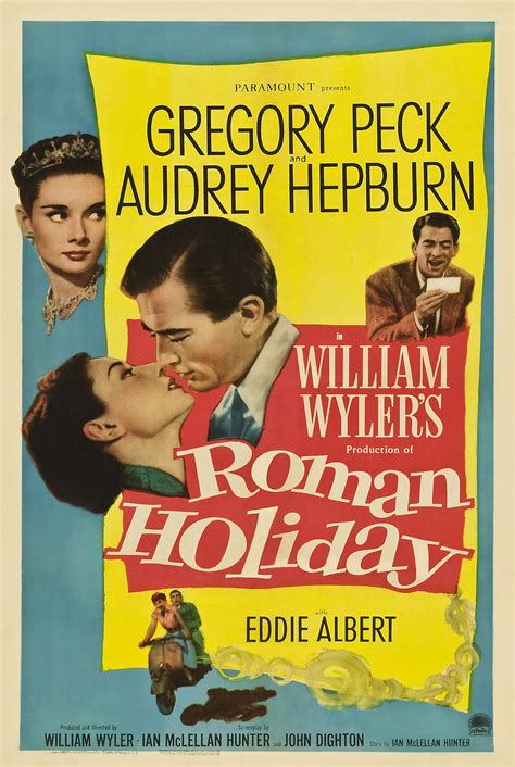 Roman Holiday (1953) | The Blonde at the Film