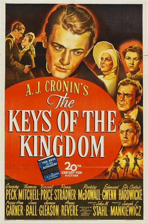 The Keys of the Kingdom Movie Posters From Movie Poster Shop