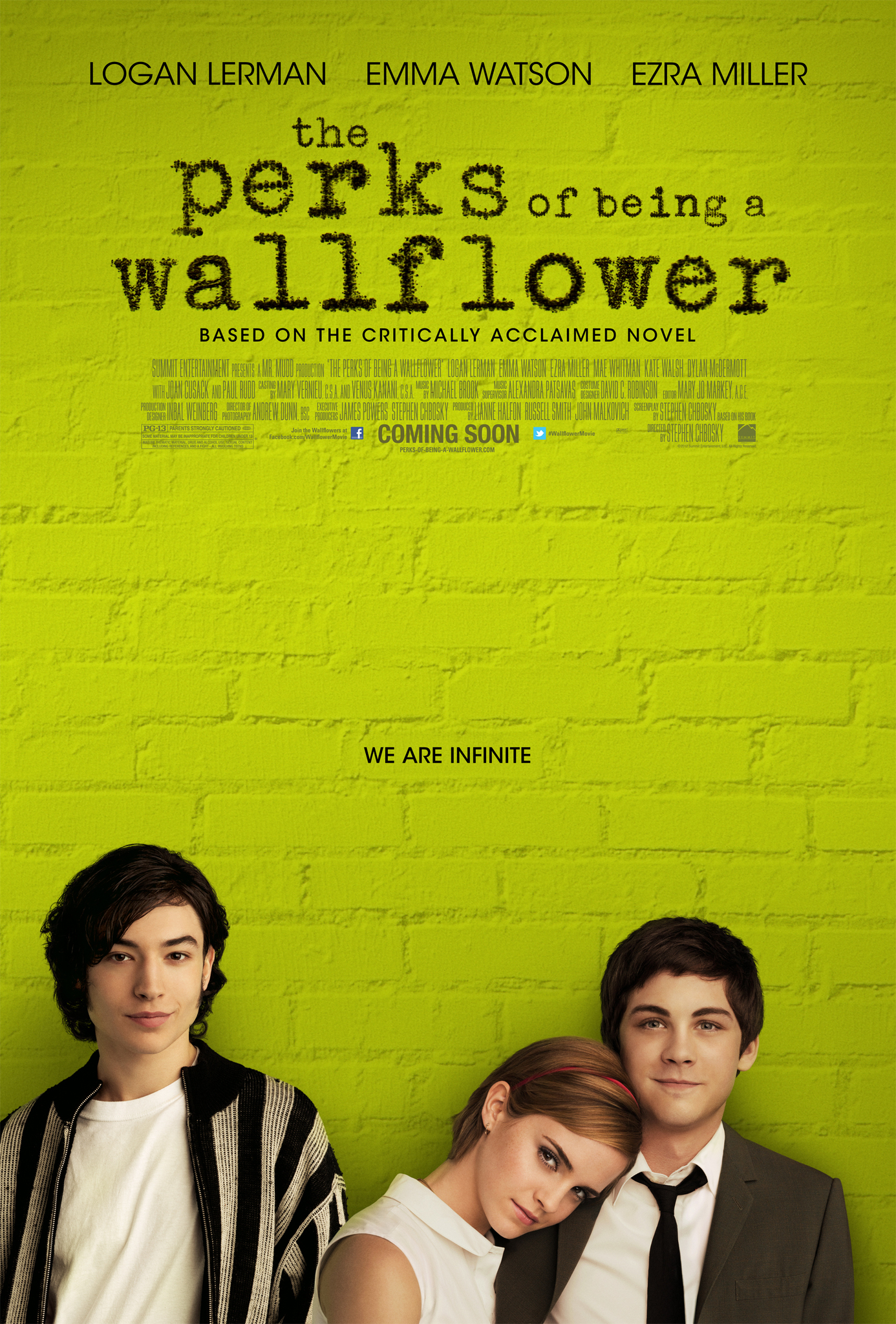 The Perks of Being a Wallflower [2012]