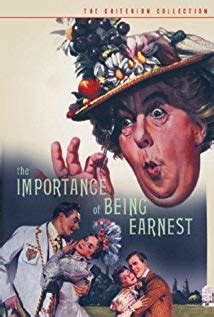 The Importance of Being Earnest (1952) - IMDb