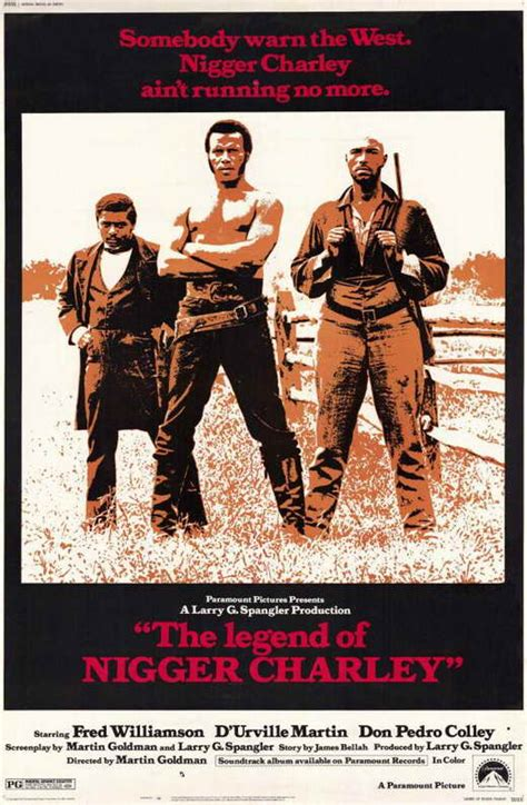 Legend of Nigger Charley Movie Posters From Movie Poster Shop