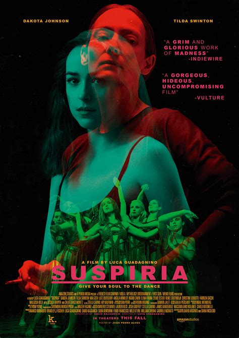 Suspiria (2018) movie poster on Behance