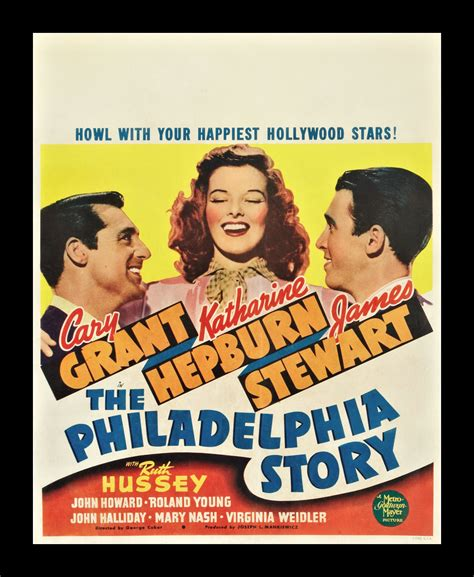 THE PHILADELPHIA STORY * CineMasterpieces ORIGINAL MOVIE ...