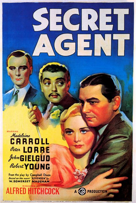 "Alfred Hitchcock Spies Again with ""Secret Agent"" 