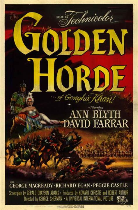 Golden Horde Movie Posters From Movie Poster Shop