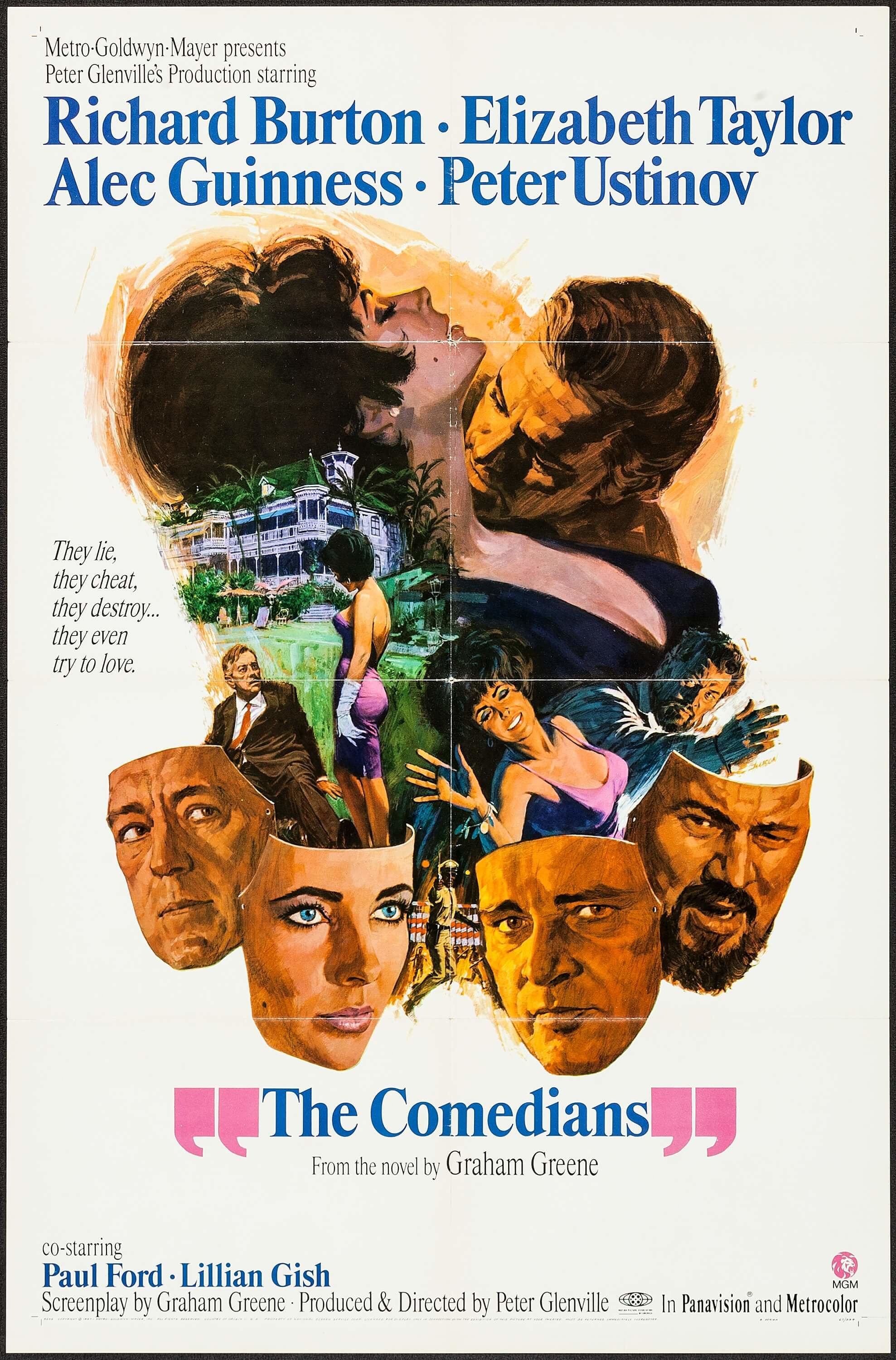 The Comedians [1967]