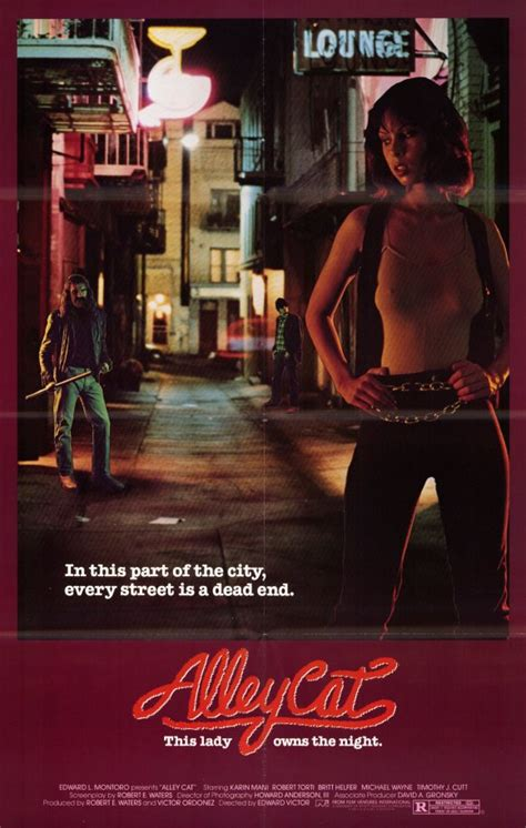 Alley Cat Movie Posters From Movie Poster Shop