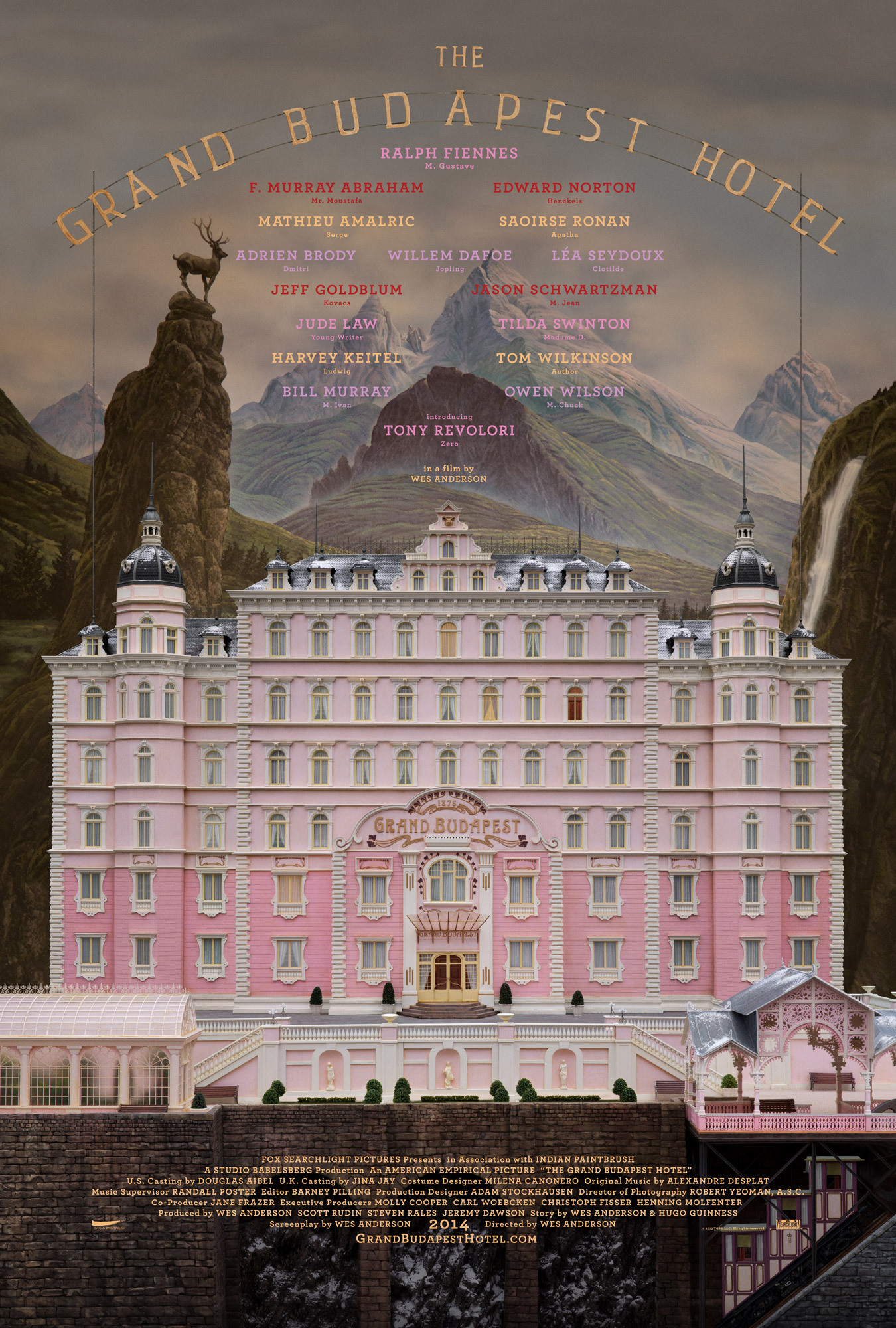 The Grand Budapest Hotel [2014]