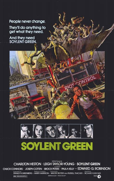 Soylent Green Movie Posters From Movie Poster Shop