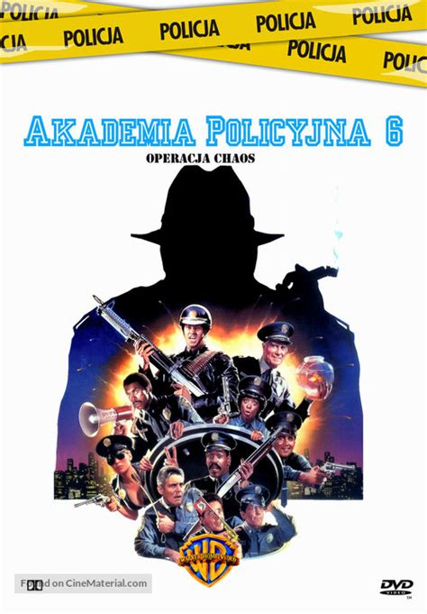 Police Academy 6: City Under Siege Polish movie cover