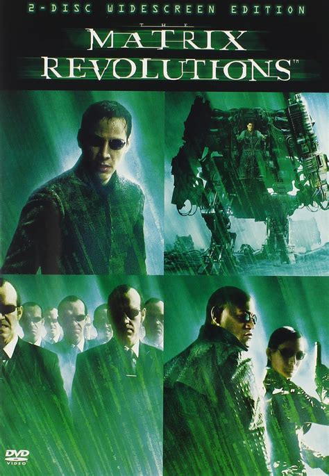 The Matrix Revolutions DVD Release Date April 6, 2004