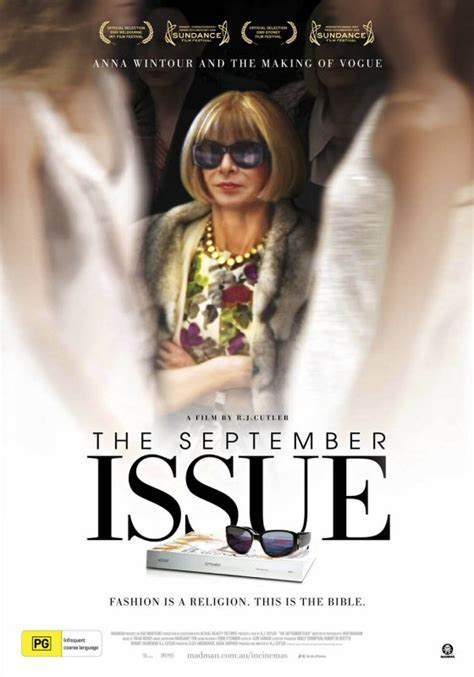 The September issue - RJ Cutler, Anna Wintour, Grace ...