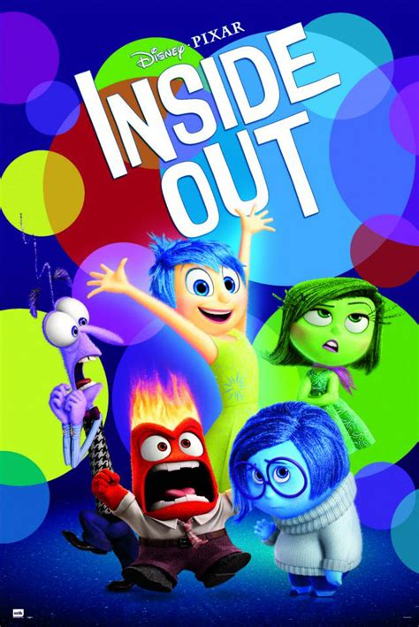 INSIDE OUT - DISNEY / PIXAR MOVIE POSTER / PRINT (REGULAR ...