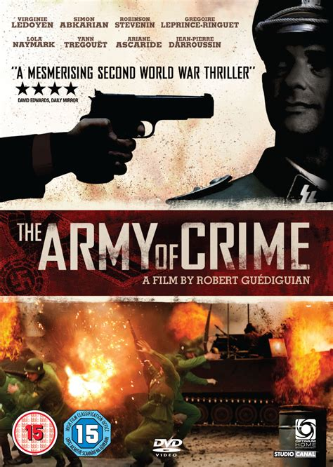 myReviewer.com - JPEG - The Army of Crime Front Cover