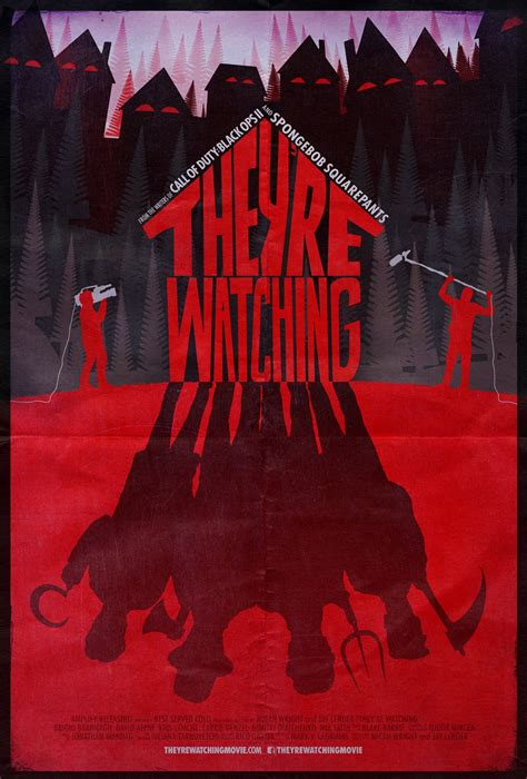 Official Poster & Trailer for 'They're Watching ...