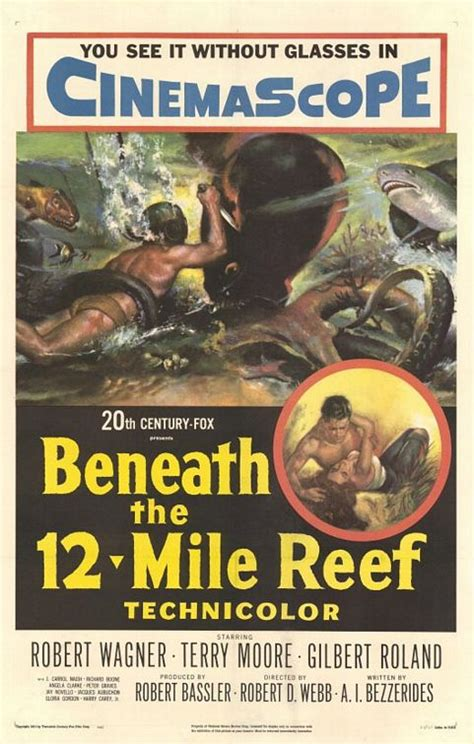 Beneath the 12-Mile Reef Movie Poster - IMP Awards