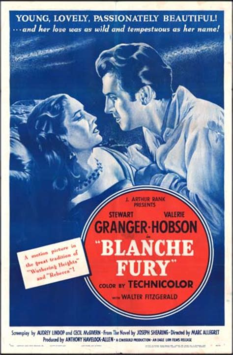 Blanche Fury original film poster | Movie Poster Studio 1455