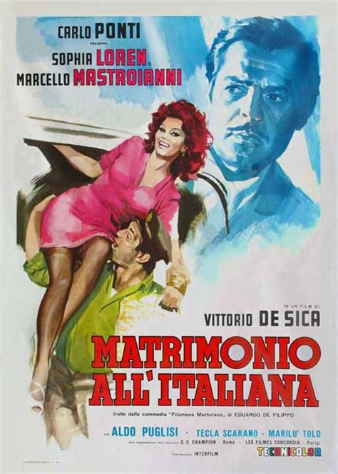 Marriage Italian-Style Movie Posters From Movie Poster Shop