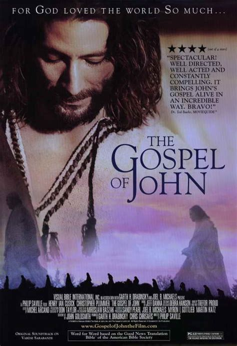 The Gospel of John Movie Posters From Movie Poster Shop