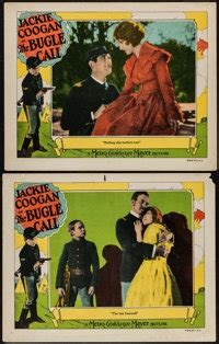 "The Bugle Call (MGM, 1927). Lobby Cards (2) (11"" X 14 ..."