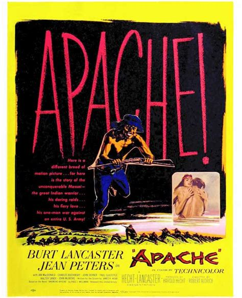 Apache Movie Posters From Movie Poster Shop