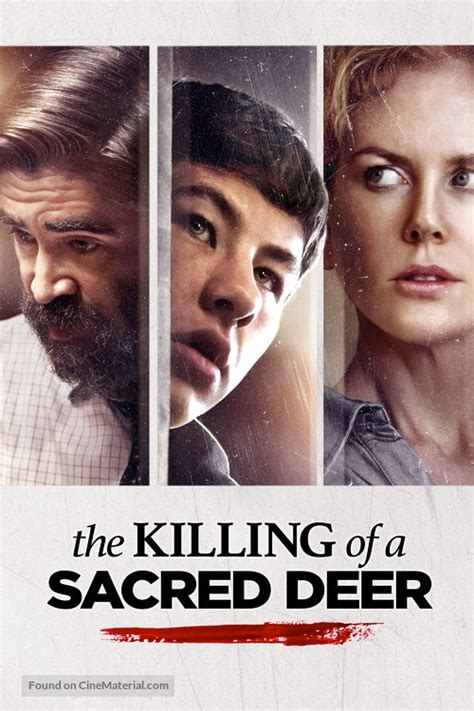 The Killing of a Sacred Deer movie cover