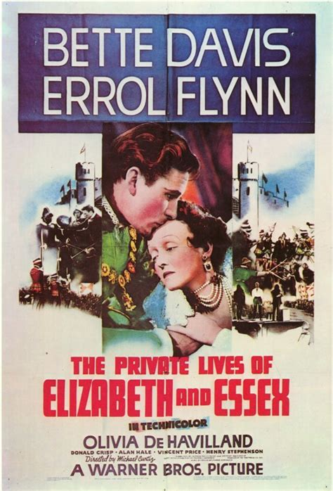 The Private Lives of Elizabeth & Essex Movie Posters From ...