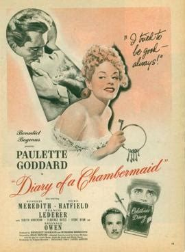 The Diary of a Chambermaid (1946 film) - Wikipedia