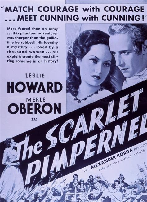 The Scarlet Pimpernel (1934) | A Humble English Wayside Flower