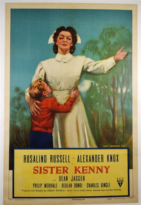 "Movie Poster, ""Sister Kenny"" 1946 : Lot 1162"