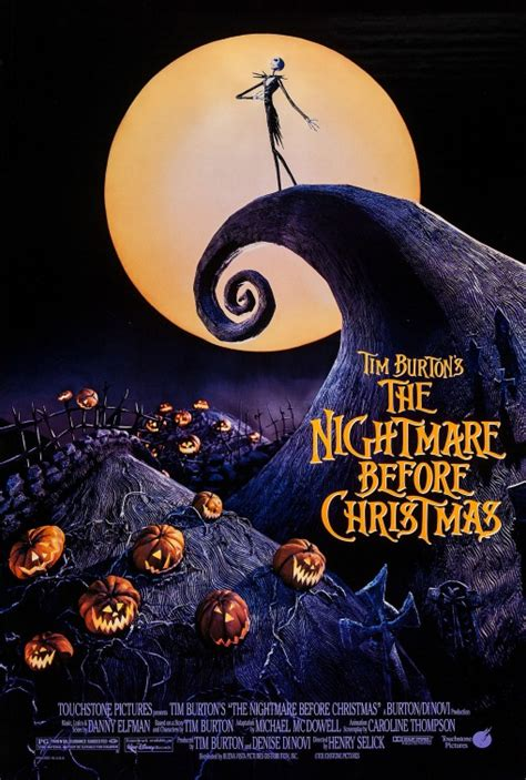 The Nightmare Before Christmas Movie Poster (#1 of 11 ...