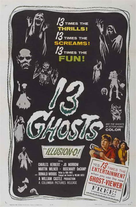13 Ghosts Movie Posters From Movie Poster Shop