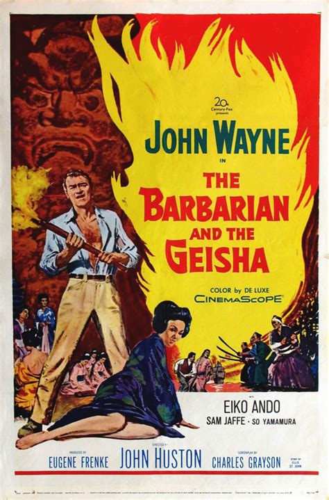 The Barbarian and the Geisha Movie Posters From Movie ...
