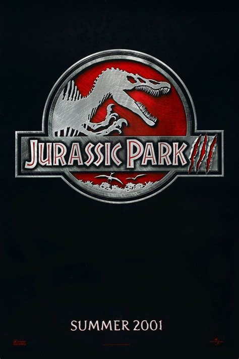 Jurassic Park III (2001) - Posters — The Movie Database (TMDb)