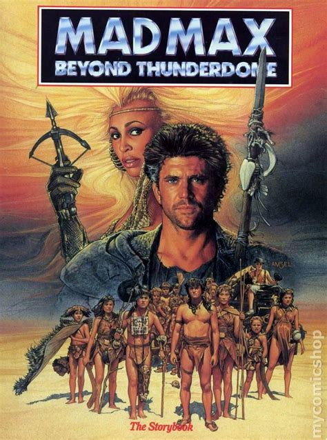 Mad Max Beyond Thunderdome SC (1985 Storybook) comic books