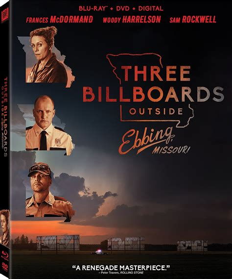 Three Billboards Outside Ebbing, Missouri DVD Release Date ...