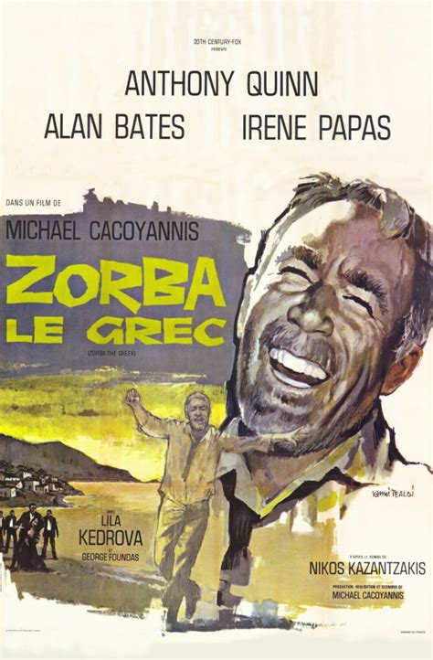 Zorba the Greek Movie Posters From Movie Poster Shop