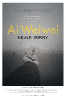Ai Weiwei: Never Sorry - Wikipedia
