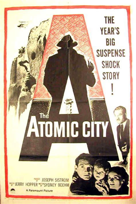 Movie posters from The Atomic City - Jerry Hopper (1952 ...